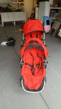 baby's red and black stroller Temecula, 92592