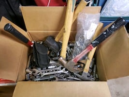 Tools. Sockets , wrenches,  Allen wrenches,hammers and more