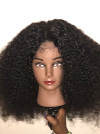 100% Human Hair Lace Closure Wig 18 in Dumfries, 22026