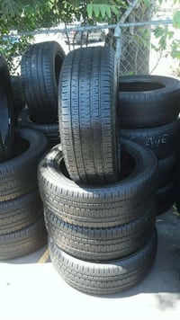 Set Bridgestone 225/55/20 semi new tires  West Whittier-Los Nietos, 90606