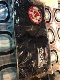 One Red Sox 14x14 pillow and one patriots 14x14 pillow never used been in storage bag Billerica, 01821