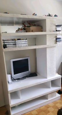 TV shelf