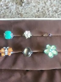 six assorted-color rings Chico, 95973