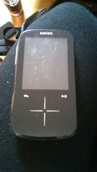 Like New Black Sanso MP3 Player  Vancouver