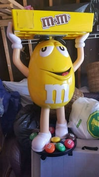 M&M collectible display
