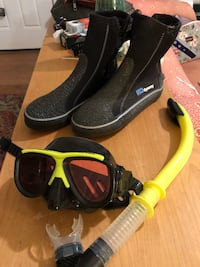Top of the line scuba gear and scuba shoes Brookeville, 20833