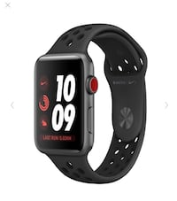 Apple Watch Nike+ GPS + Cellular(Bell) Series 3 42mm Like New