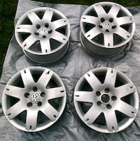 "Rims, Alloy VW Passat 16"" (4ea)"