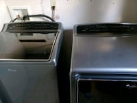 black and gray washers and dryer  Alamo, 78516