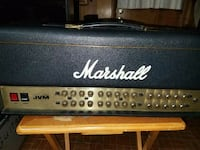 black and gray Marshall guitar amplifier Kings Mountain, 28086