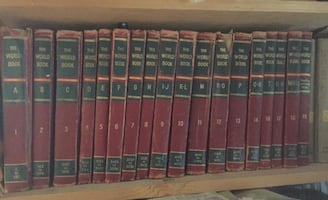 1956 ENCYCLOPEDIA SET
