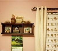 Dark wooden wall shelf Jacksonville, 32225