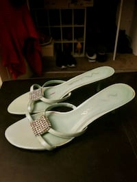 Mint Colored Slip-on Heels Louisville, 40245