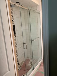 Frameless Glass Shower  Milton