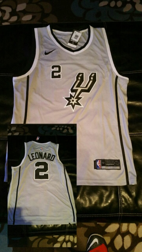 5165240c638 Used gray San Antonio Spurs Leonardo 2 jersey for sale in San ...