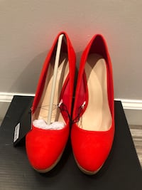 New Red Wedges by Forever21 in size 5.5 Torrance