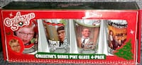 A CHRISTMAS STORY Collectors Glasses Box Set  Silver Spring, 20906
