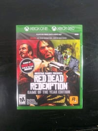 NEW Red Dead Redemption Game of the year edition for Xbox One Xbox 360