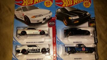 Hotwheels, $2each