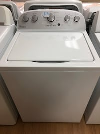 Whirlpool white top load washer  Woodbridge, 22191