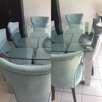 Dinning table with six chair  New Tecumseth, L0G 1W0
