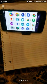 black LG Android smartphone with box Brampton, L6X 0Z8
