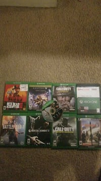 9 Xbox1 games for $30. Red dead is sold Norfolk, 23502