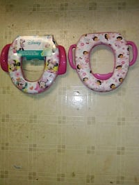 two pink mickey mouse n dora potty seats Knoxville