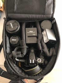 Nikon D5100 body and lenses (Mint Condition )
