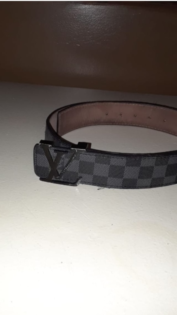 6b28d8a3b0b8 Used black and brown Louis Vuitton belt for sale in Louisville - letgo