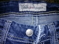 blue True Religion denim bottoms 1701 mi