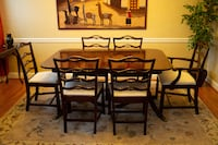 Dinning Room Table, 6 Chairs and China Cabinet