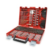 New, unopened, 300-Piece Drill Bit Accessory Kit w/ Carry Case- Centreville