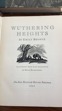 Wuthering Heights by Emily Bronte Drummond/North Elmsley, K7H