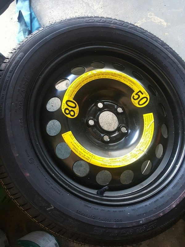 Tires 205 55R16 >> New Spare Tire With Goodyear Rim 205 55r16