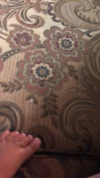 brown and gray floral area rug Abbotsford, V2T 4R4
