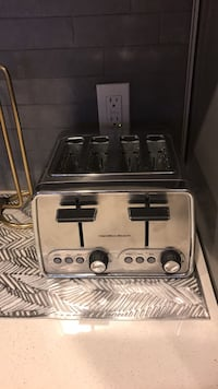 stainless steel and black toaster oven Los Angeles, 90028