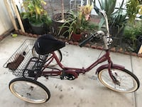 black and red cruiser bike Chula Vista, 91911