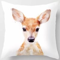 Animal Pillow Covers- Throw Pillow Sterling