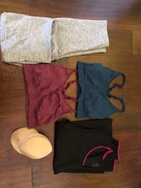 Athletic clothing for women size XL
