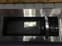 Stainless steel over the range microwave  Murfreesboro, 37127