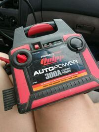 black and red quipp automatic battery jumper Albuquerque, 87107