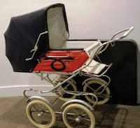VINTAGE BABY BUGGY null