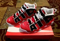 Nike Air More Uptempo Bulls Hoops Pack GS Size 7 San Diego, 92101