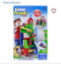 Fisher-price  Little people sit n' stand skyway