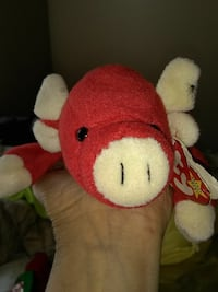 red and white bear plush toy Hull, 30646