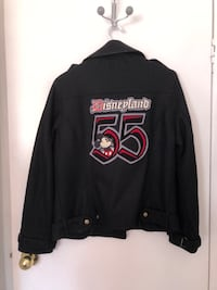 Ladies authentic vintage Disneyland Peacoat Bomber Jacket size M Surrey, V3W