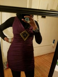 Small purple dress with design in the middle Minneapolis