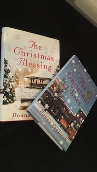 Set of two hardcover Christmas stories by Donna VanLiere Pembroke, 03275