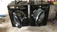 Black front-load washer and dryer set Leander, 78641